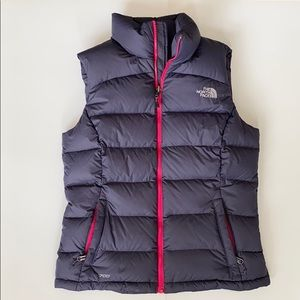 Women's North Face Nuptse Vest Down 700